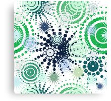 Abstract dot pattern  Canvas Print