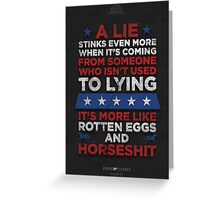 House of Cards - Chapter 46 Greeting Card