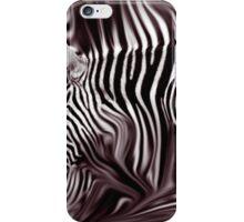 Knee Deep in Brown Zebras  iPhone Case/Skin