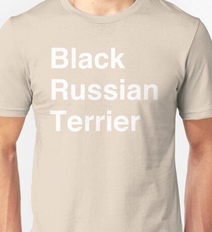 Black Russian Terrier Unisex T-Shirt