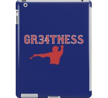 GR34TNESS--David Ortiz iPad Case/Skin