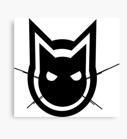Graphics Cat Canvas Print