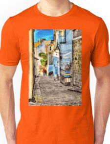 A back street in St. Ives Unisex T-Shirt