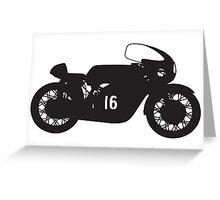 Honda RC 166 Greeting Card