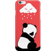 Sad Panda iPhone Case/Skin