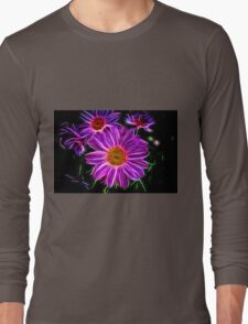Electrifying Daisies Long Sleeve T-Shirt