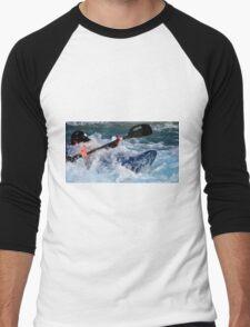 The Invisible Man Men's Baseball ¾ T-Shirt