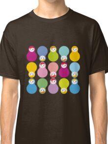 Colourful matryoshka Classic T-Shirt