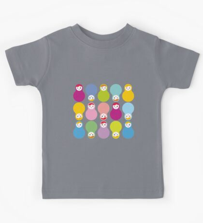 Colourful matryoshka Kids Tee