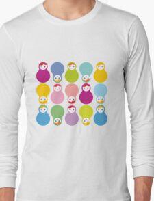 Colourful matryoshka Long Sleeve T-Shirt