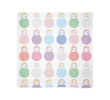 Colourful matryoshka Scarf