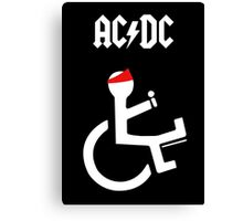 Funny Ac Dc Axl Canvas Print