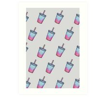 Slush Drinks Art Print