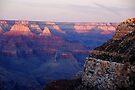 Sunset - Grand Canyon by John Schneider