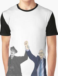 Franklin D. Roosevelt & Bernie Sanders Graphic T-Shirt