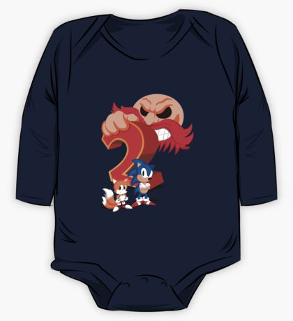 Sonic The Hedgehog 2 Cover Art One Piece - Long Sleeve