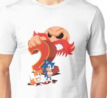 Sonic The Hedgehog 2 Cover Art Unisex T-Shirt