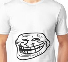 Troll Face various sizes Unisex T-Shirt