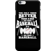Baseball Moms iPhone Case/Skin