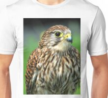 The posing hawk  Unisex T-Shirt