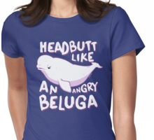 Beluga Headbutt Womens Fitted T-Shirt