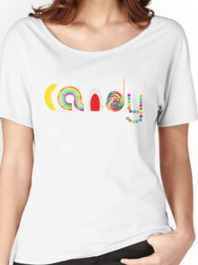 Candy Women's Relaxed Fit T-Shirt