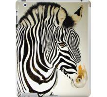 Zebra Watercolor iPad Case/Skin