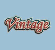 Tricolor Vintage One Piece - Short Sleeve