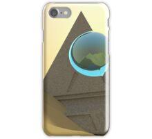 Science Fiction Desert Scene iPhone Case/Skin