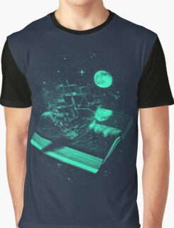 A Page Turner Graphic T-Shirt