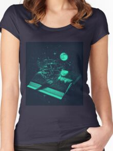 A Page Turner Women's Fitted Scoop T-Shirt