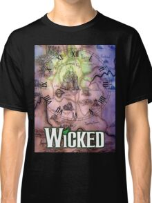 Wicked the musical OZ map Classic T-Shirt