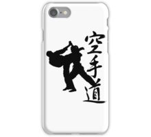 KARATE KANJI iPhone Case/Skin