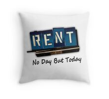 Rent The Musical Throw Pillow