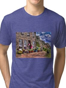 THE FISHERMAN'S COTTAGE HDR Tri-blend T-Shirt