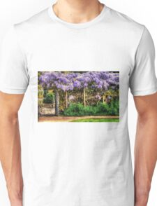 Wall of Wisteria HDR Unisex T-Shirt
