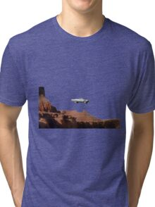 THELMA AND LOUISE CAR Tri-blend T-Shirt