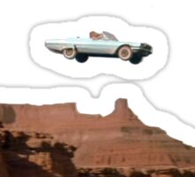 THELMA AND LOUISE CAR Sticker