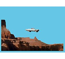 THELMA AND LOUISE CAR Photographic Print