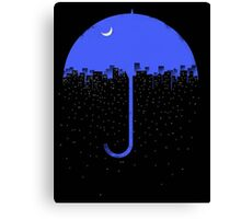 City Rain Canvas Print
