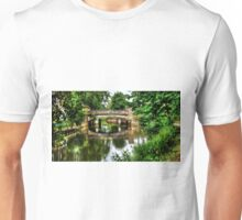 Pathway to the bridge HDR Unisex T-Shirt
