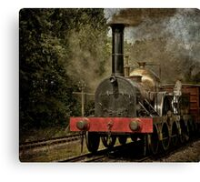 "GWR Broad Gauge Locomotive ""Firefly"" Canvas Print"