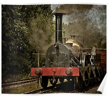 "GWR Broad Gauge Locomotive ""Firefly"" Poster"