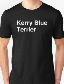 Kerry Blue Terrier Unisex T-Shirt