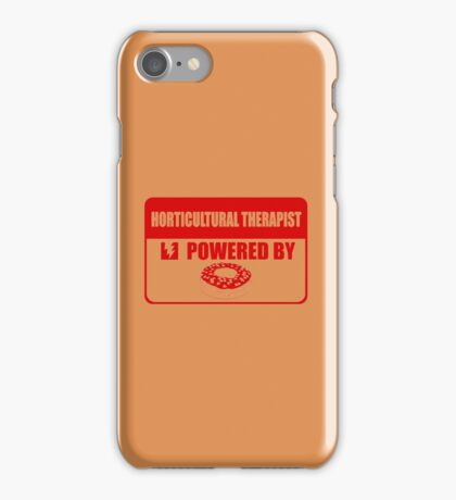 Horticulture therapist powered by iPhone Case/Skin