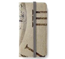 Clockworks  iPhone Wallet/Case/Skin