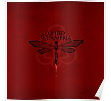 THE NEW COHEED & CAMBRIA DRAGONFLY LOGO Poster