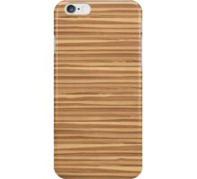 Wood - ash olive iPhone Case/Skin