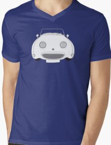 Austin-Healey Sprite Vintage Car Mens V-Neck T-Shirt