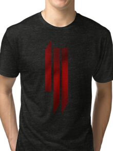 Skrillex - ill - Red Tri-blend T-Shirt
